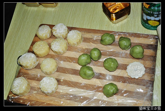 冰皮月饼的制作方法