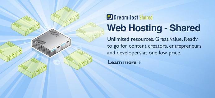 Dreamhost空间分享计划