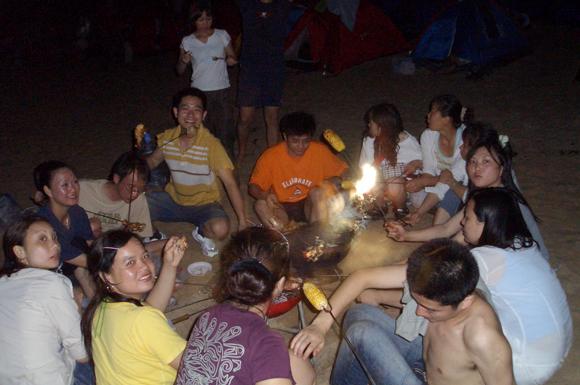 小辣甲岛之篝火晚会